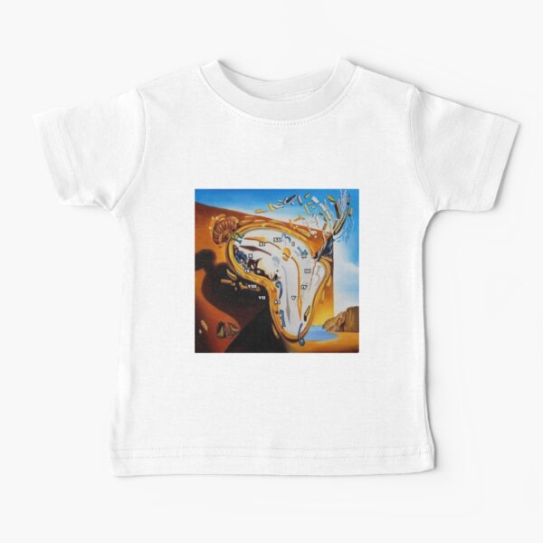 Salvador Dali Paintings Watches Baby T-Shirt