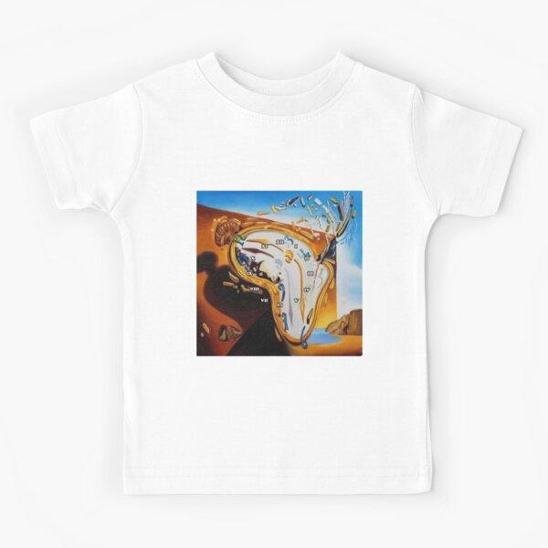 Salvador Dali Paintings Watches Kids T-Shirt