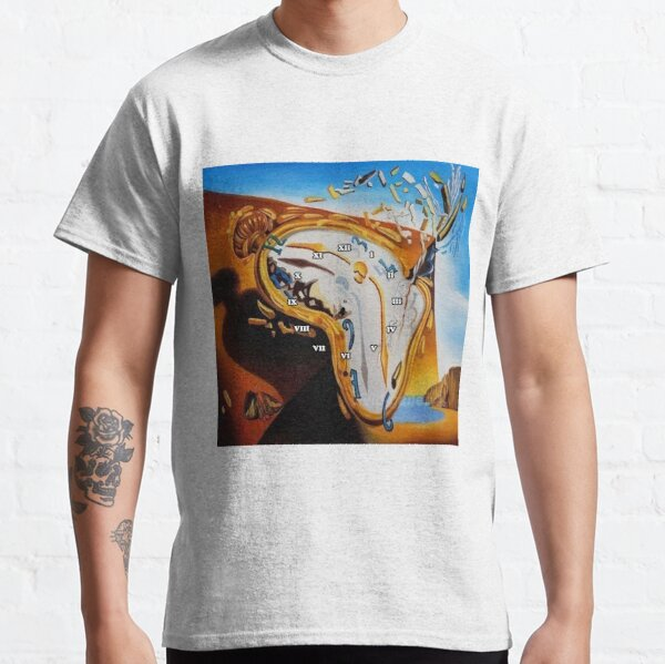 Salvador Dali Paintings Watches Classic T-Shirt