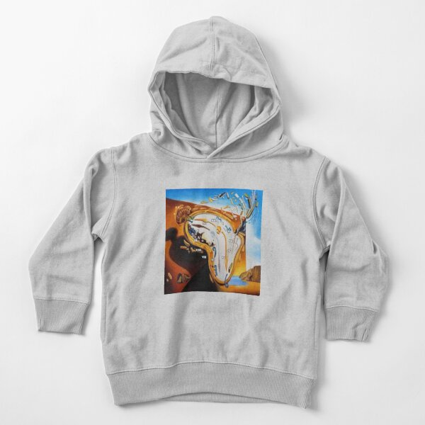 Salvador Dali Paintings Watches Toddler Pullover Hoodie