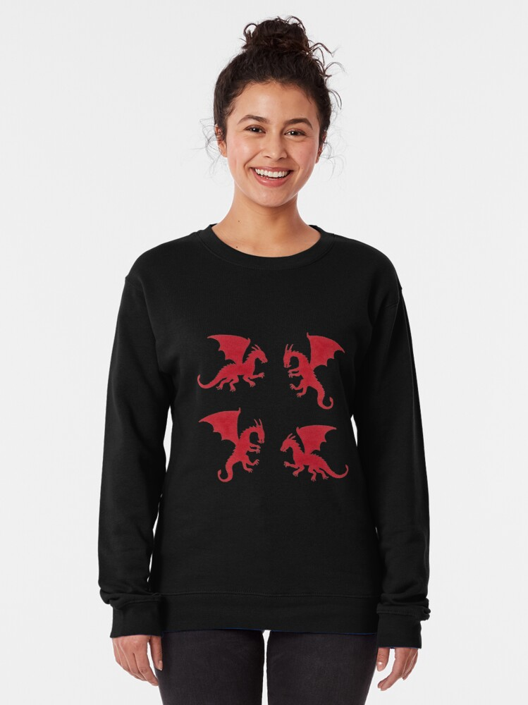 Alternate view of Red Dragons Pullover Sweatshirt