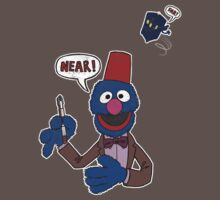 TShirtGifter Presents: Doctor Blue (Sesame Street / Doctor Who)
