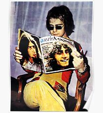 best music n pianis he,s sir elton regginal  john Poster