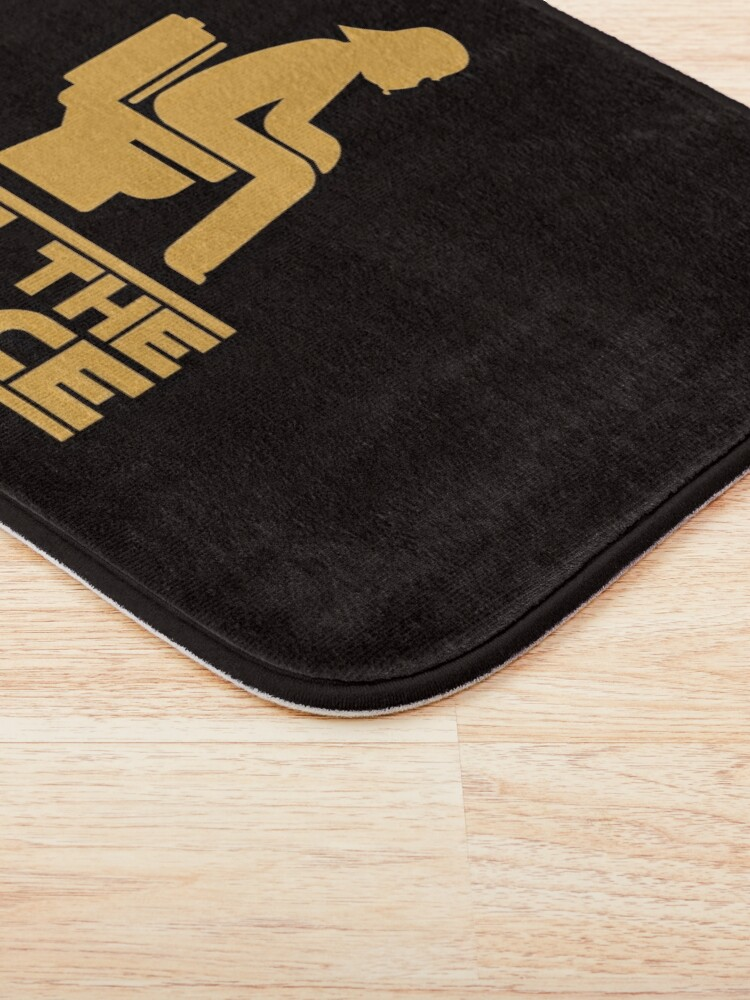 Alternate view of Use the force Bath Mat