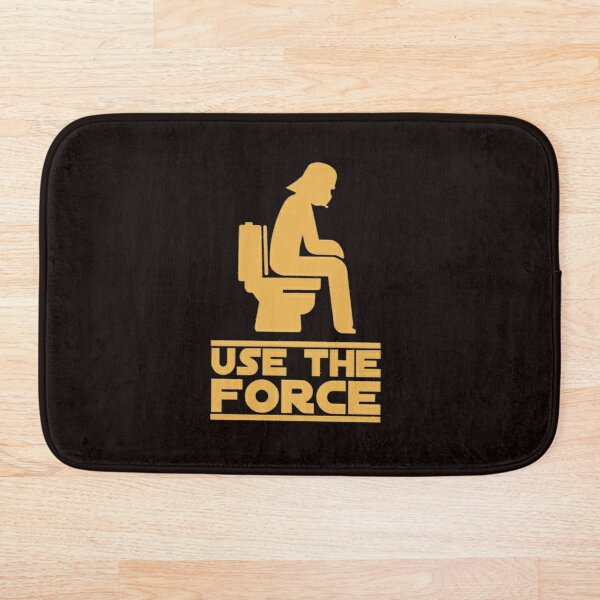 Use the force Bath Mat