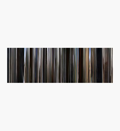 Moviebarcode: There Will Be Blood (2007) Photographic Print