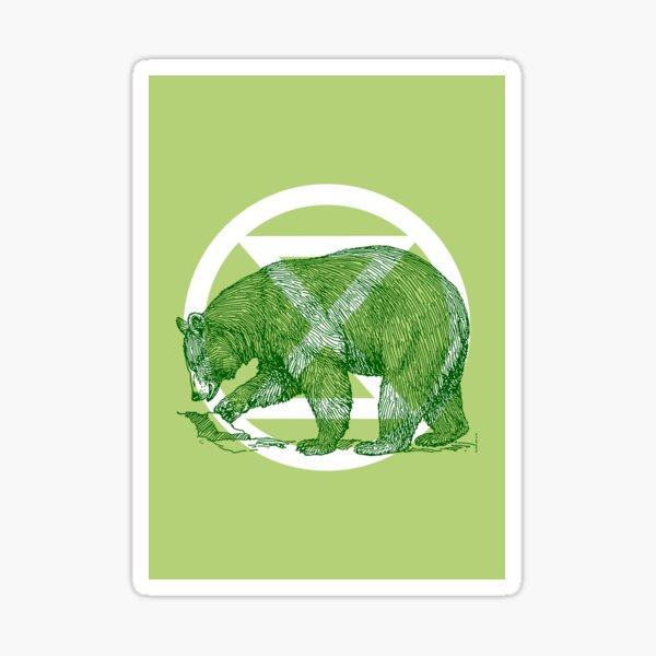 Extinction Rebellion - Bear Sticker