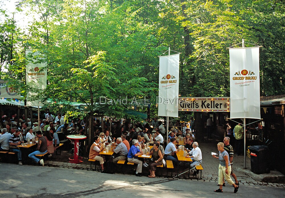 Annafest in Forchheim, Germany, 2003. by David A. L. Davies