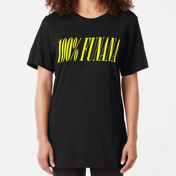 100% FUNANA Slim Fit T-Shirt