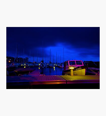 Harbor Nights Photographic Print
