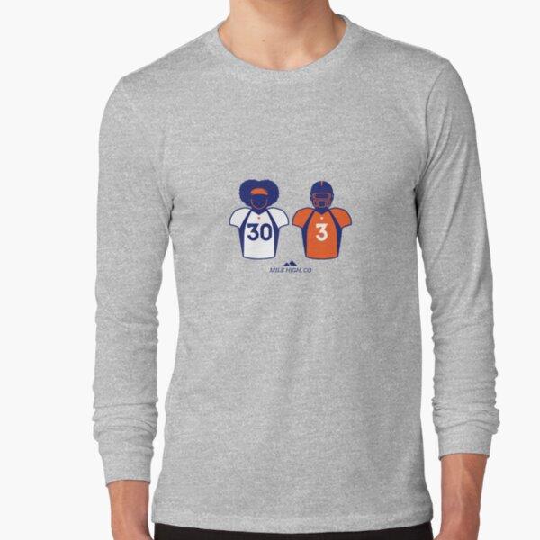 303 (Orange Jersey) Long Sleeve T-Shirt