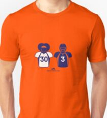 303 (Blue Jersey) Slim Fit T-Shirt