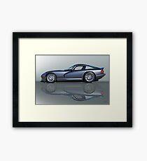 2000 Dodge Viper GTS VS0 'Reflections' Framed Print