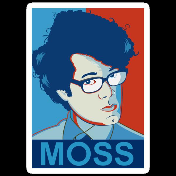 Moss- Nerd Legend by Tom Trager