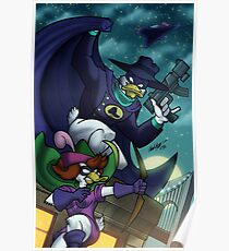 Darkwing Duck and Quiverwing Quack Poster
