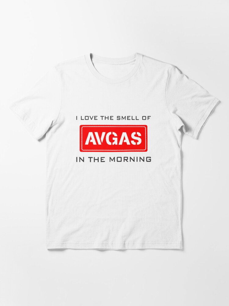 Alternate view of Model 9 - Smell of Avgas Essential T-Shirt