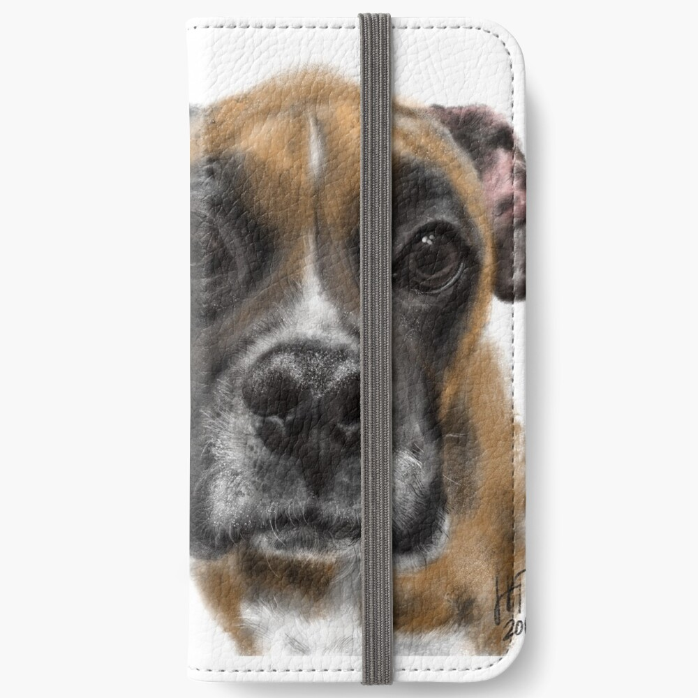 Best Friend Pooches But Keep Your Distance  iPhone Wallet