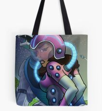 African American Princess Allura of Voltron Tote Bag