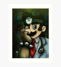 Dr. Dexter Mario Art Print