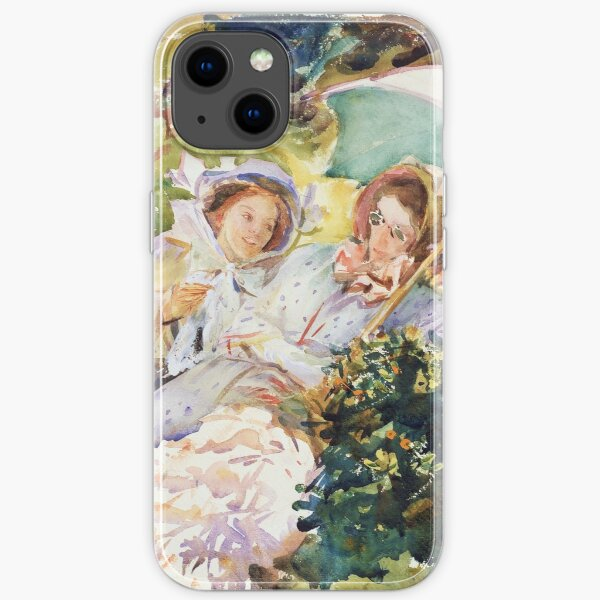 Simplon Pass The Tease by John Singer Sargent (1911) iPhone Soft Case