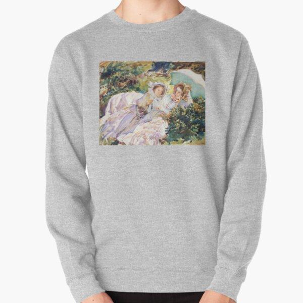 Simplon Pass The Tease by John Singer Sargent (1911) Pullover Sweatshirt