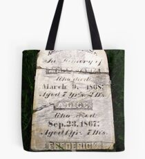 Only the good die young Tote Bag