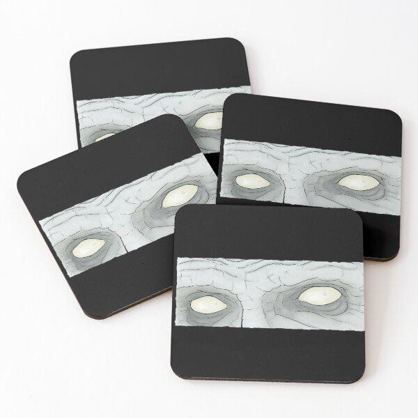 Dead Eye Stare Coasters (Set of 4)