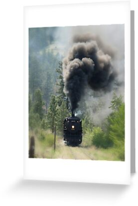 """3716 Steam Engine"" by Jeff Ashworth & Pat DeLeenheer"