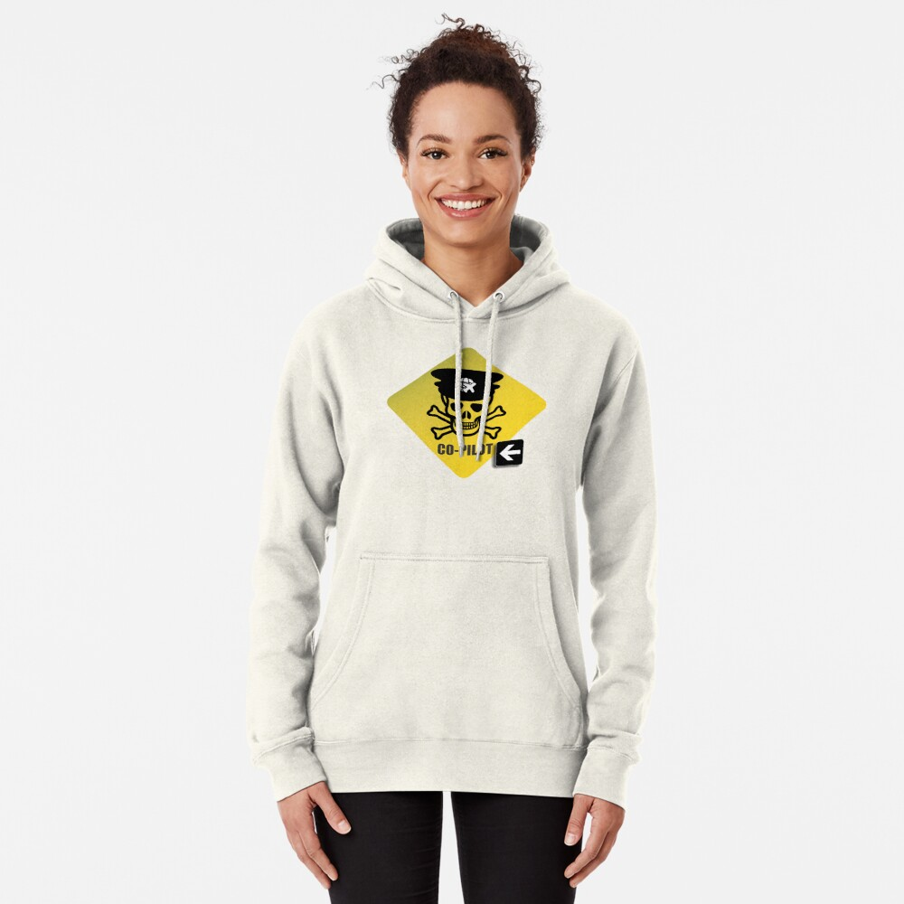Model 23 - Warning Co-Pilot Pullover Hoodie