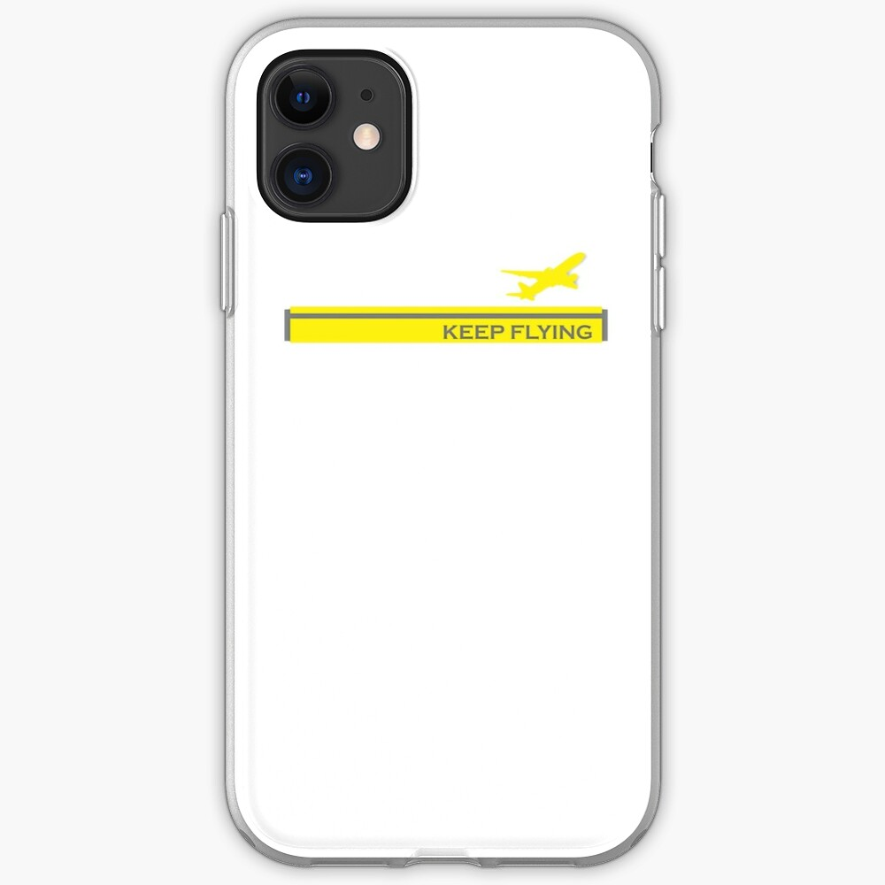 Model 28 - Keep Flying iPhone Case & Cover