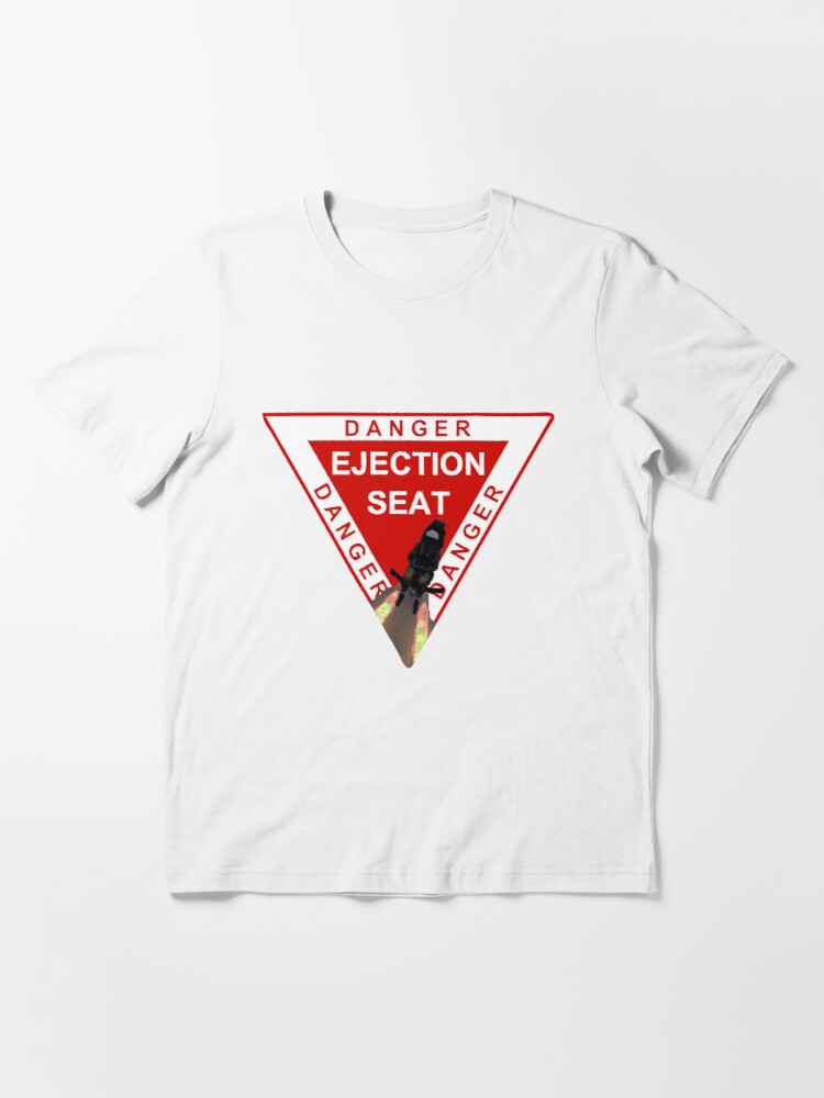 Alternate view of Model 52 - Danger Ejection Seat! Essential T-Shirt