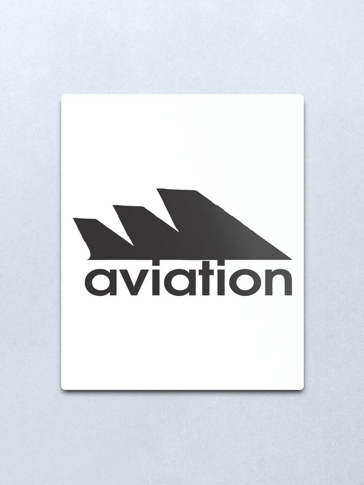 Alternate view of Model 55 - Aviation Metal Print