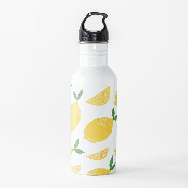 Cut + Paste Lemon Pattern Water Bottle