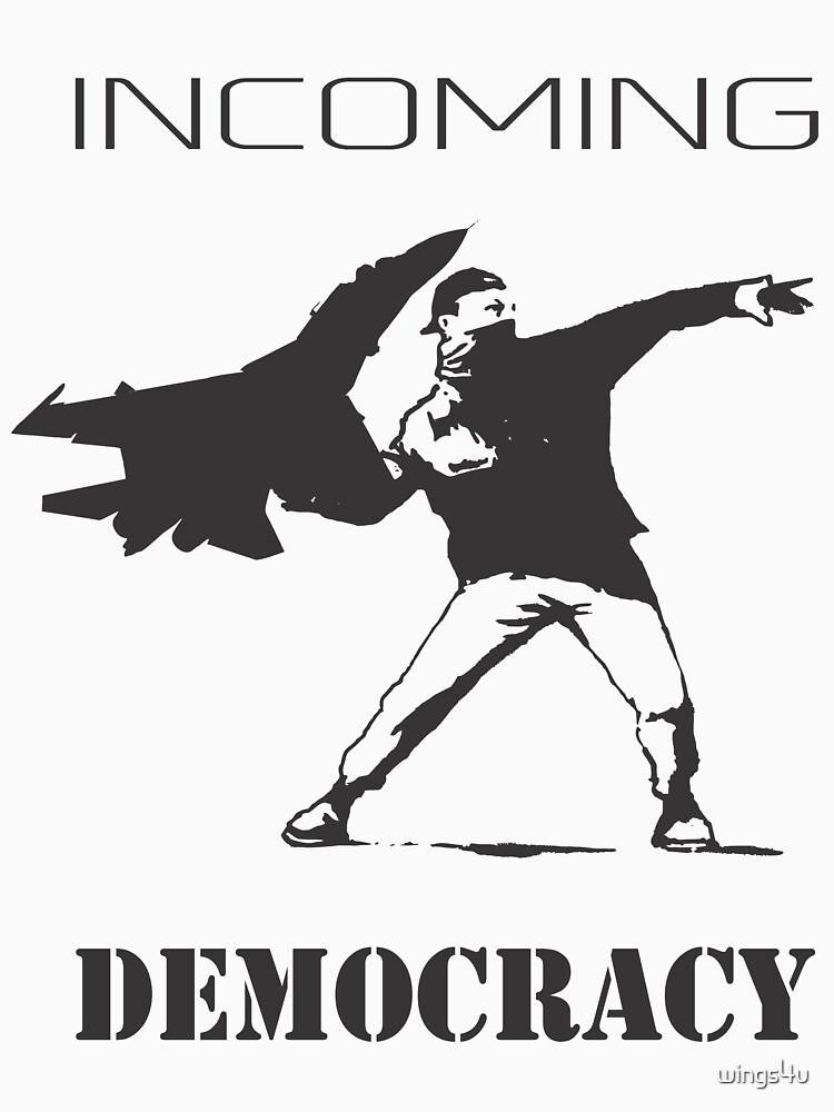 Model 63 - Throwing Democracy by wings4u
