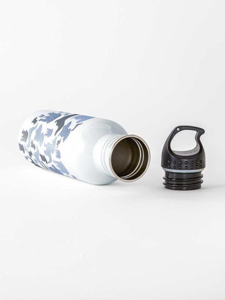 Alternate view of Denim Daschunds Water Bottle