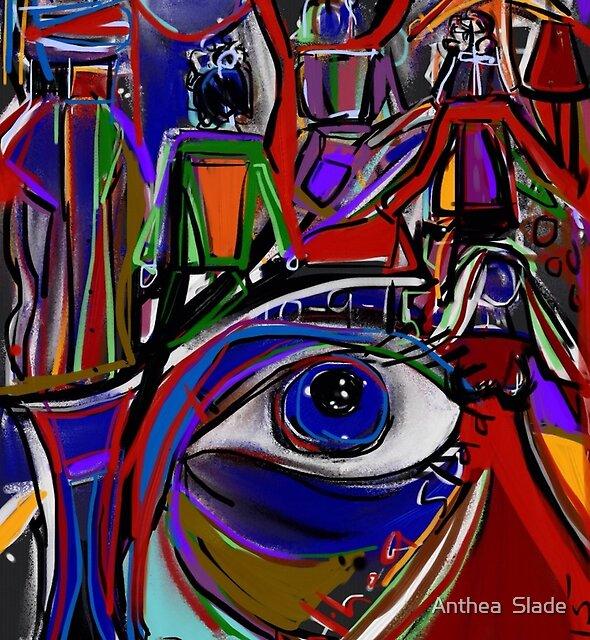 Dance of Third Eye Redux by Anthea  Slade