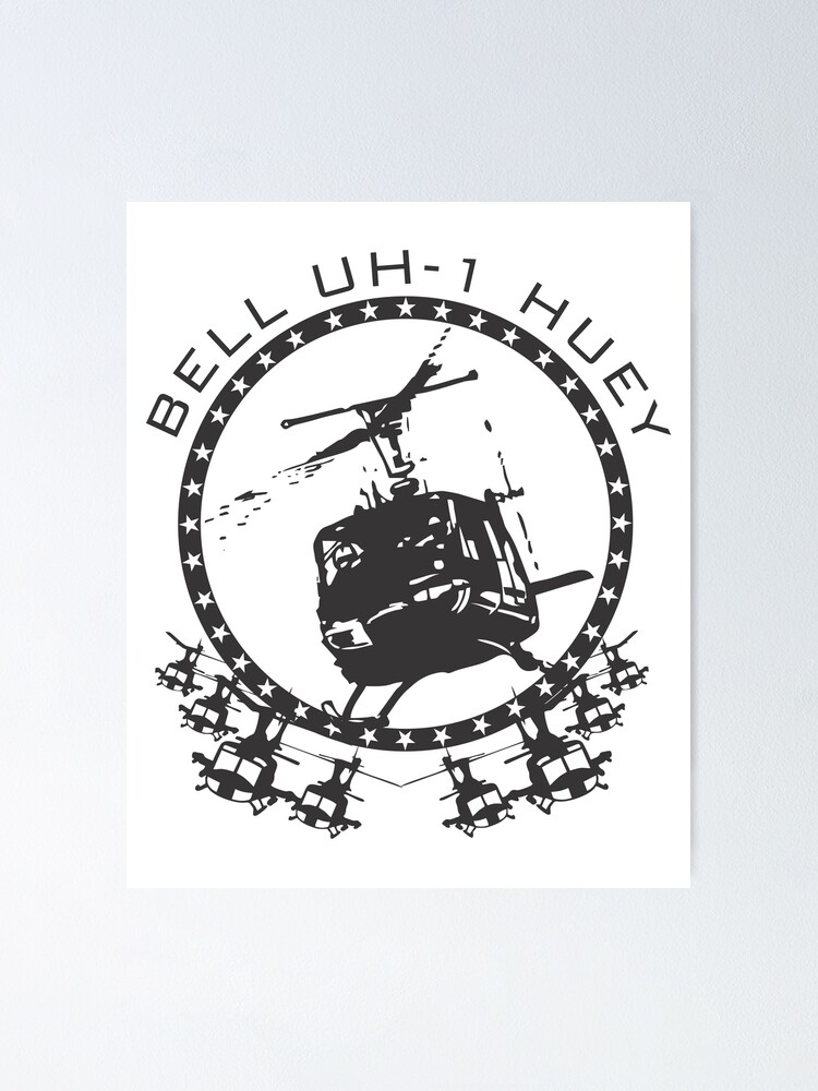 Alternate view of Model 69 - Bell UH-1 Huey Poster