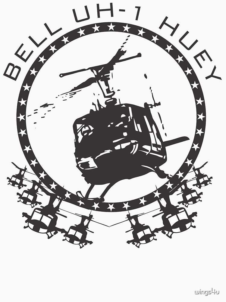Model 69 - Bell UH-1 Huey by wings4u