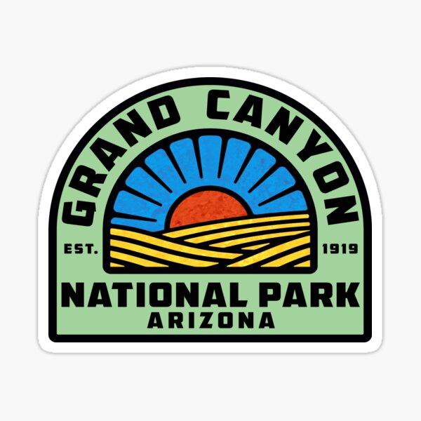 GRAND CANYON NATIONAL PARK ARIZONA BIGHORN SHEEP MOUNTAINS HIKING CAMPING HIKE CAMP Sticker