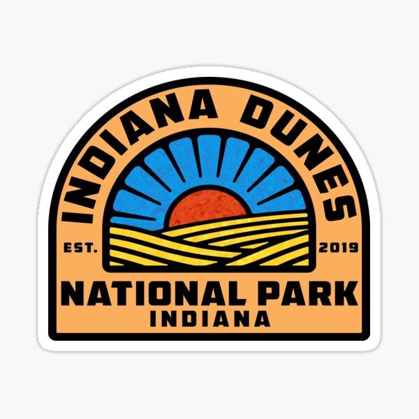 Indiana Dunes National Park Sticker