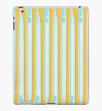 PENCIL PATTERN LIGHT iPad Case/Skin