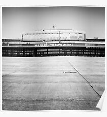 Airport Tempelhof Poster