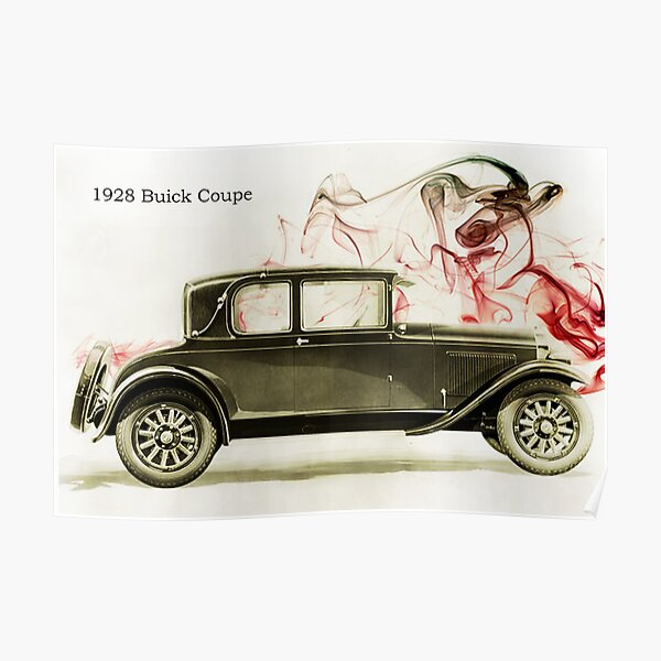 1928 Buick Coupe Poster