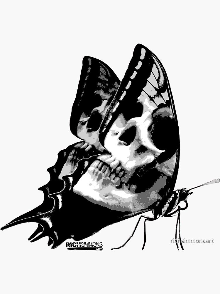 Skullerfly by richsimmonsart