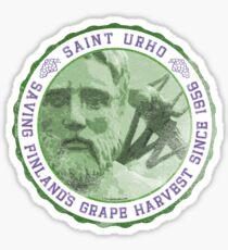 St. Urho Seal Sticker