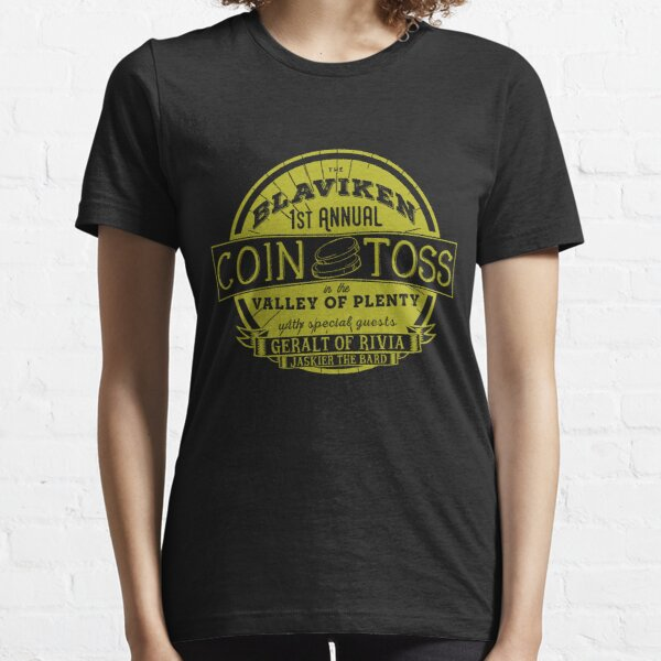 The Witcher Coin Toss Blaviken Essential T-Shirt