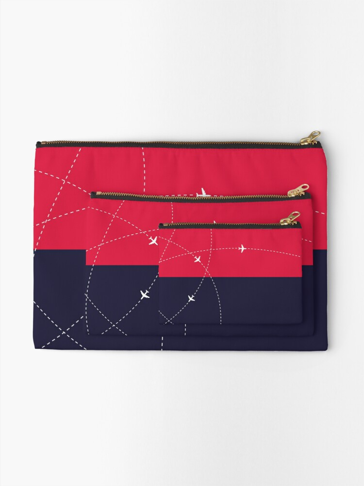 Alternate view of Simplee Travel: Pouch - Design 1 Zipper Pouch