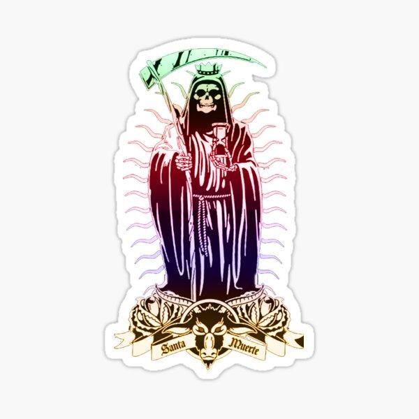 o santa muerte Pegatina