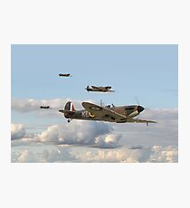 Spitfire - 54 Squadron RAF Photographic Print