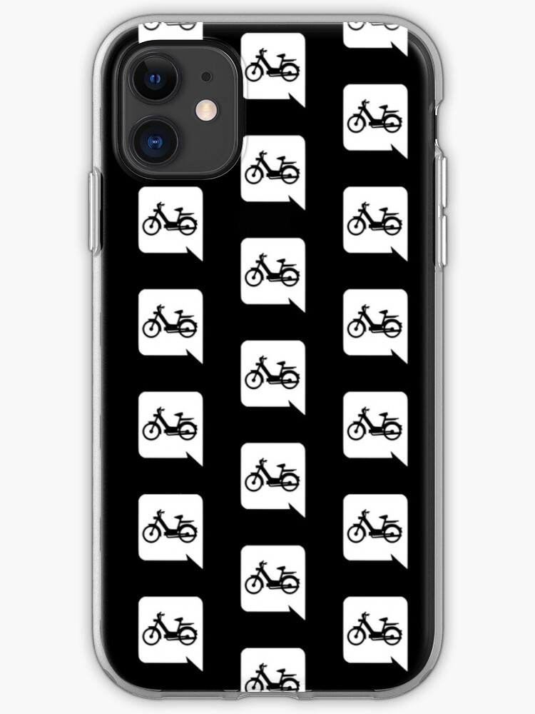 Moped Discord Logo White Iphone Case Cover By Lanana422 Redbubble